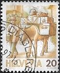 Postier par mule