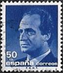 Roi Juan Carlos 50 Violet foncé bleuâtre