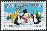 Renne et pingouins