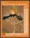 Henri Toulouse Lautrec «Yvette Guilbert chantant»