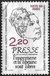 Presse - Loi du 29 juillet 1881 article 1er l'imprimerie et la librairie sont libres
