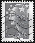 0,10 euro gris