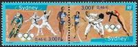 Jeux Olympiques de Sydney 2000 Paire de timbres
