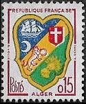 Armoiries d'Alger en nouveaux francs