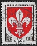 Armoiries de Lille en nouveaux francs