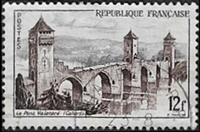 Cahors - Le pont Valentr