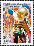 France championne du Monde 1998