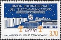Union Internationale des Télécommunications UIT <br>Conférence des plénipotentiaires- Nice 89