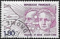 Frédéric et Irène Joliot-Curie