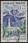 La Réunion - Eglise de Cilaos - Massif du Grand Bénard
