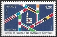 Election de l'Assemblée des Communautés Européennes 10 juin 1979