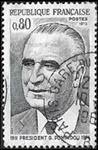 Président Georges Pompidou 1911-1974