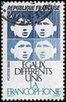 La Francophonie égaux - différents - unis
