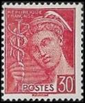 30c rouge (République française)