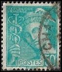 50c turquoise (République française)