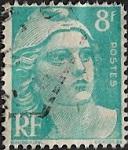 Marianne de Gandon 8F bleu-clair