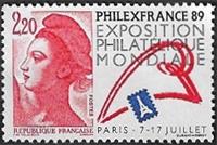 PhilexFrance 89 Exposition philat?lique mondiale Paris 7-17 juillet 1989