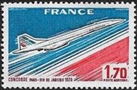 Concorde Paris-Rio de Janeiro 1976