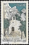 Bouches-du-Rhône - Puyloubier La chapelle de Saint-Ser