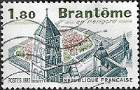 Brantôme en Périgord
