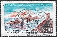 Iles sanguinaires Ajaccio - Corse du Sud