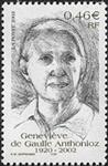 Geneviève de Gaulle-Anthonioz 1920-2002