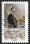 Camille Pissarro Femme au fichu vert