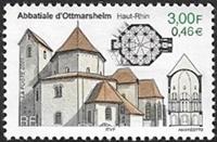 Abbatiale d'Ottmarsheim (Haut Rhin)