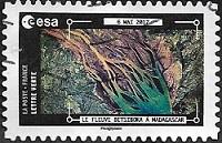 Le fleuve Betsiboka à Madagascar - 6 mai 2017