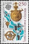 500e anniversaire de la découverte de l'Amérique par Christophe Colomb 1493