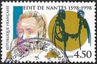 400ème anniversaire de l´Edit de Nantes