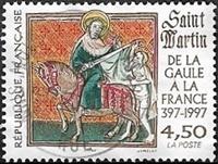 Saint Martin De la Gaule à la France 397-1997