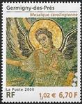 Germigny-des-prés Mosaïque carolingienne (9ème siècle)