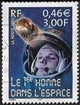 Le 1er homme dans l'espace Youri Gagarine
