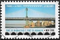 Pont de Mahattan et pont de Brooklyn - New York
