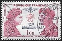 Pierre Bourgoin et Philippe Kieffer Compagnons de la Lib?ration