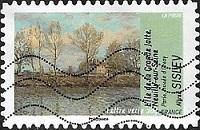 Alfred Sisley - L'Île de la Grande Jatte