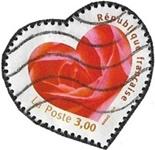 Coeur avec une rose
