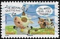 Ne meuuh quitte pas  Oh, mais quel joli timbre !