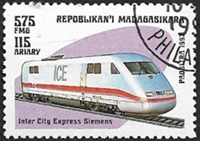 Inter City Express Siemens