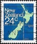 Carte de la Nouvelle-Zélande
