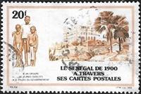 Le Sénégal en cartes postales