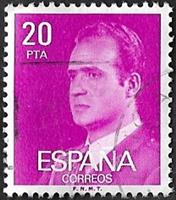 Roi Juan Carlos 20 Violet clair