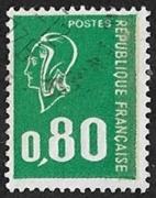 80c vert typographié