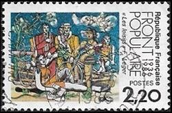"""Front Populaire 1936-1986 """"Les loisirs"""""""