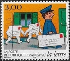 Distribution de la lettre