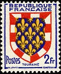 Armoiries de Touraine
